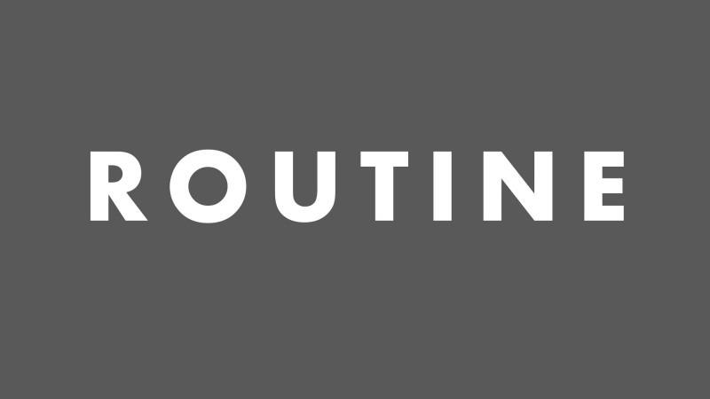 目標達成のための「ルーティン」の具体例と効果