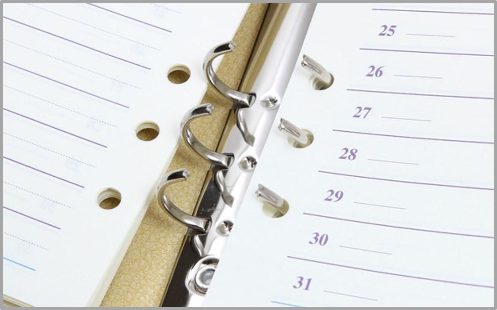 システム手帳はリングが邪魔!?手帳初心者の方へお勧めする「リング径」の選び方