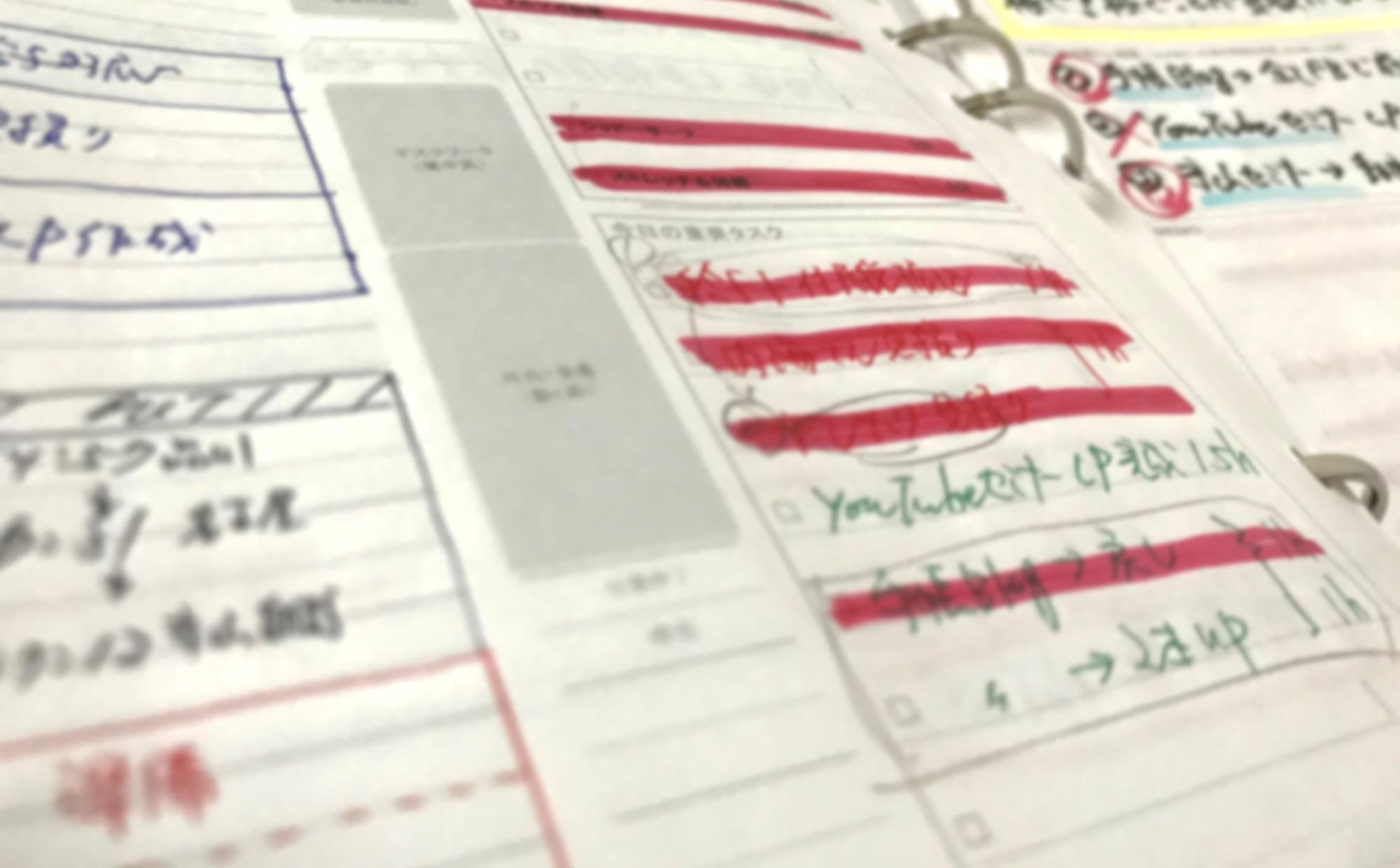 目標達成のために、1日の課題・宿題・タスクはその日中に対処する努力を