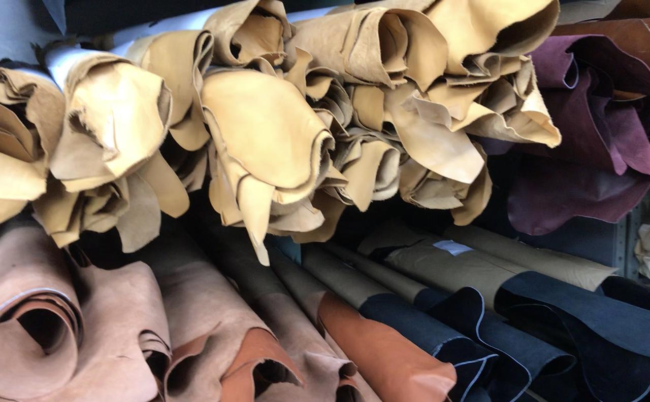 革製品・レザー好きにはたまらない!老舗の皮革・製革屋さんを訪ねてきました