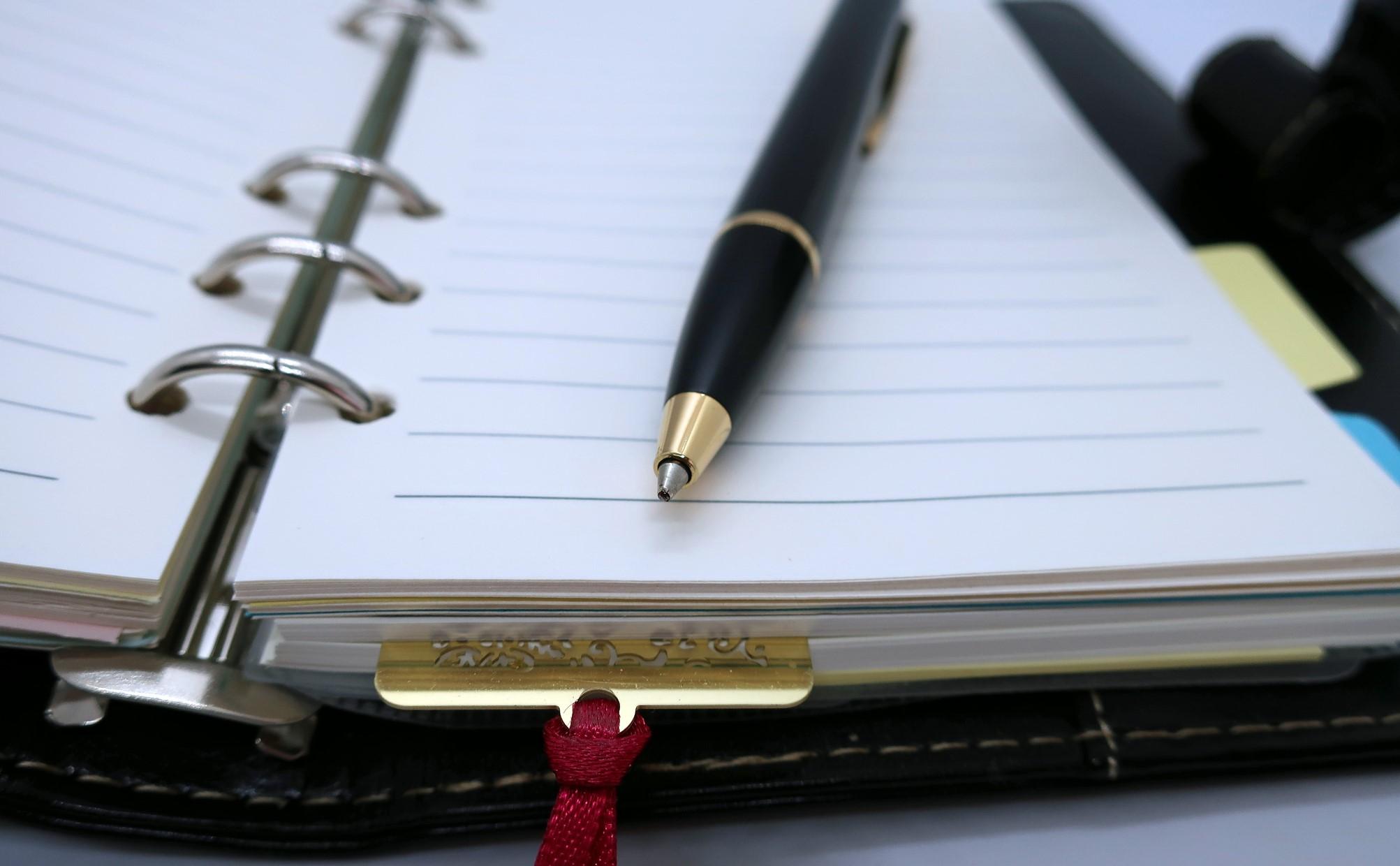 手帳の使い方|手帳が担う本質的な役割りと効果について考える