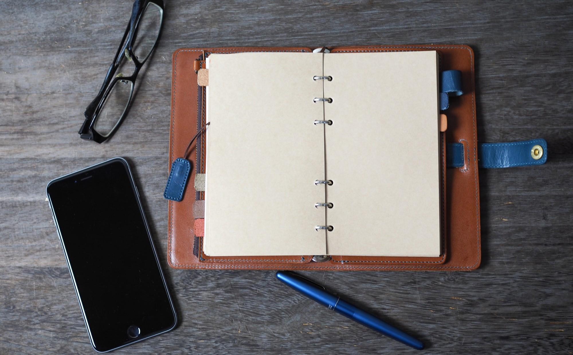 「手帳の活用が続かない」とお悩みの方へ、シンプルな2つの対処法